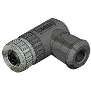 SAL M12 x 1, 4-pin, socket, angled CONEC 43-00096