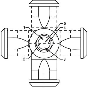 SAL M12x1, 5-pol, Stecker, gewinkelt CONEC 43-00106