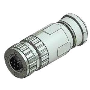 SAL M12x1, 4-pol, Buchse CONEC 43-00113
