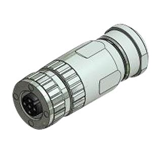 SAL M12 x 1, 5-pin, socket CONEC 43-00114