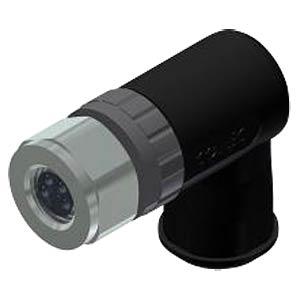 SAL M8 x 1, 4-pin, socket, angled CONEC 42-00028