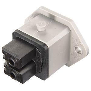 Panel socket with flat seal, 2+PE BELDEN STAKEI 200
