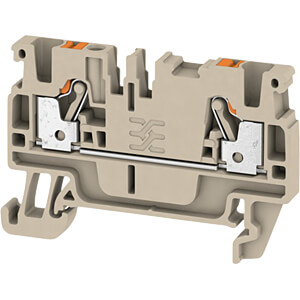 Through terminal Klippon® Connect, A-Series beige WEIDMÜLLER 1521850000