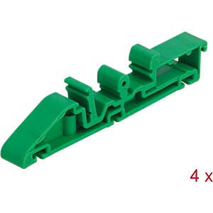 DIN rail clip for PCB 85 mm 4 pieces DELOCK 66261