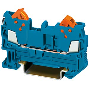 Feed-through terminal 0.25 - 1.0mm², blue PHOENIX-CONTACT 3205022