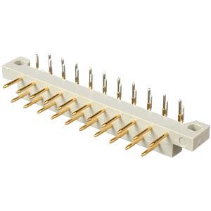Stiftleiste, 21-polig, DIN 41617, Print, gewinkelt CONEC 101A10099X