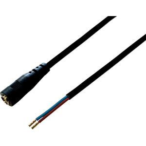 BKL 075183 - DC-Kabel Kupplung 2,1/5,5mm sw 0,5m