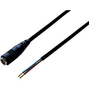 BKL 075187 - DC-Kabel Kupplung 2,5/5,5mm sw 0,5m