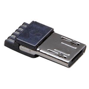 Micro USB Stecker, Typ B, 5-polig BKL 10120262