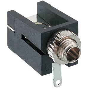 Jack connector, 2,5 mm, Mono, 2-Pol LUMBERG 1501 09