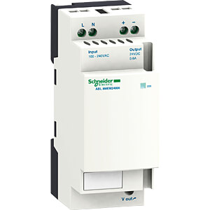 Schaltnetzteil, Hutschiene, 15 W, 24 V, 0,6 A SCHNEIDER ELECTRIC ABL8MEM24006