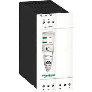 Schaltnetzteil, Hutschiene, 120 W, 24 V, 5 A SCHNEIDER ELECTRIC ABL8REM24050