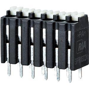 Federkraftklemme, lötbar, 3-pol, RM 3,5 RIA CONNECT AST2130302