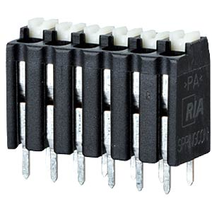 spring terminal, solderable, 5-pole, RM 3,5 RIA CONNECT AST2130502