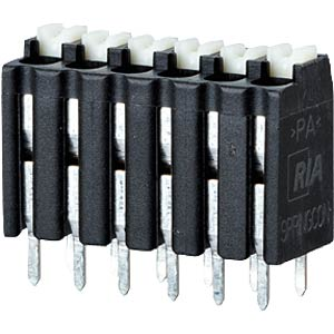 spring terminal, solderable, 6-pole, RM 3,5 RIA CONNECT AST2130602