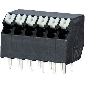 spring terminal, solderable, 2-pole, RM 3,5 RIA CONNECT AST2330202