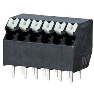 spring terminal, solderable, 3-pole, RM 3,5 RIA CONNECT AST2330302