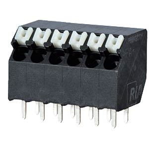 spring terminal, solderable, 4-pole, RM 3,5 RIA CONNECT AST2330402