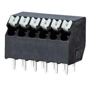 Federkraftklemme, lötbar, 4-pol, RM 3,5 RIA CONNECT AST2330402