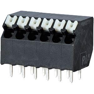 Federkraftklemme, lötbar, 5-pol, RM 3,5 RIA CONNECT AST2330502