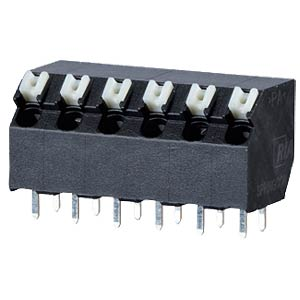 spring terminal, solderable, 5-pole, RM 5,00 RIA CONNECT AST2350502