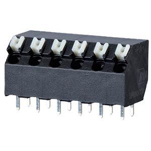 Federkraftklemme, lötbar, 5-pol, RM 5,00 RIA CONNECT AST2350502