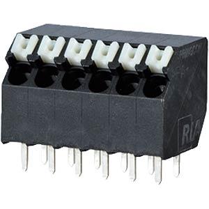 Federkraftklemme, lötbar, 6-pol, RM 3,5 RIA CONNECT AST2330602