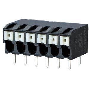 Federkraftklemme, lötbar, 3-pol, RM 3,5 RIA CONNECT AST2230302