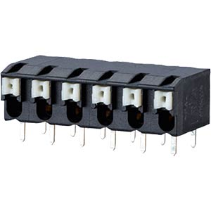 spring terminal, solderable, 3-pole, RM 5,00 RIA CONNECT AST2250302