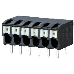 spring terminal, solderable, 4-pole, RM 3,5 RIA CONNECT AST2230402