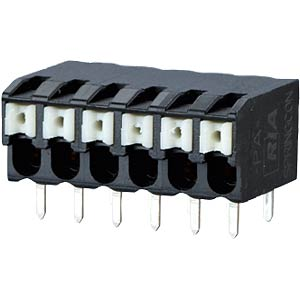 spring terminal, solderable, 5-pole, RM 3,5 RIA CONNECT AST2230502
