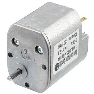 Getriebemotor, 6 V, 0,28 A, 44 rpm BÜHLER MOTOR 1.61.065.405