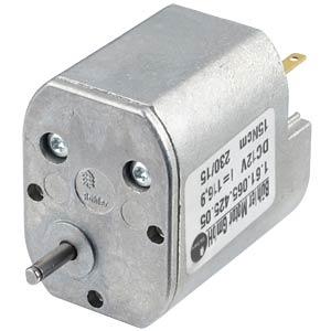 Getriebemotor, 12 V, 0,14 A, 44 rpm BÜHLER MOTOR 1.61.065.425