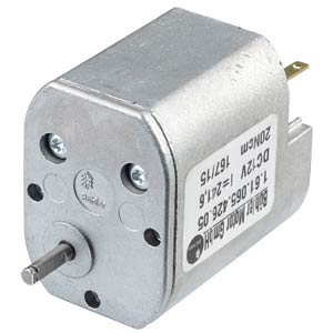 Getriebemotor, 12 V, 0,12 A, 22 rpm BÜHLER MOTOR 1.61.065.426