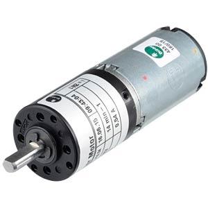 Getriebemotor 31x88, 12 V, 0,55 A, 18 rpm BÜHLER MOTOR 1.61.077.416