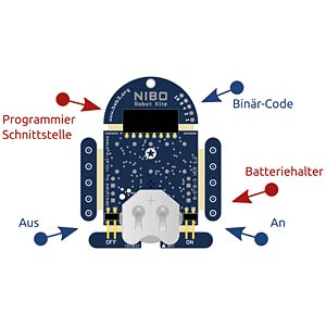 Robot kit — learn to program NICAI SYSTEMS B-O-B-3