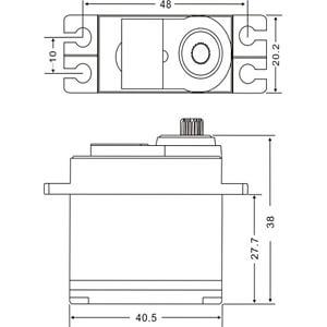 Servo Motor, DS4020 MASTER C4994