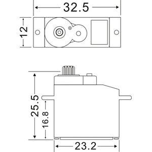 Servo Motor, DS2312 MASTER C5637