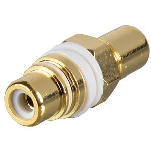 RCA adaptor, white FREI