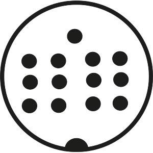 DIN-Printbuchse, 13-polig (Atari) FREI