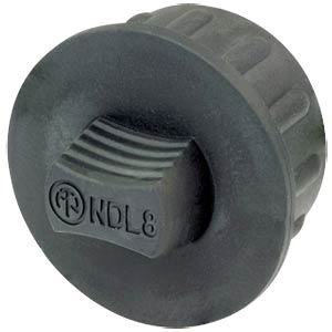 dummyPLUG for 8 pole speakON NEUTRIK NDL8