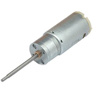 Gearmotor 122,1 mm, 1:9,3, 12 V DC EKULIT
