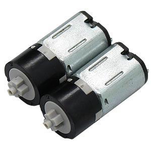 Gearmotor 24 mm, 1:171, 3 V DC EKULIT