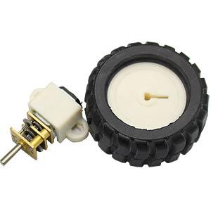 Getriebemotor 35 mm, 1:298, 6 V DC EKULIT