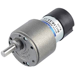 Geared motor 39.6 mm, 15:1, 12 V DC MICRO MOTORS