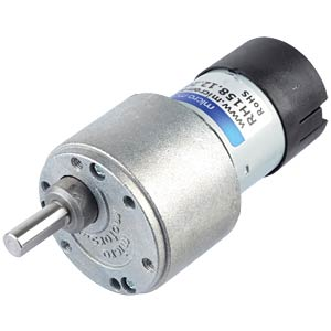 Geared motor 39.6 mm, 200:1, 12 V DC MICRO MOTORS RH158.12.200