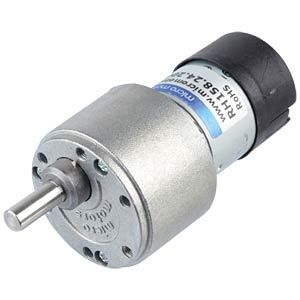 Geared motor 39.6 mm, 200:1, 24 V DC MICRO MOTORS RH158.24.200