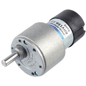 Geared motor 39.6 mm, 30:1, 12 V DC MICRO MOTORS RH158.12.30
