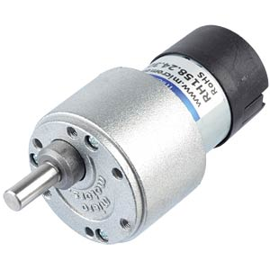 Geared motor 39.6 mm, 30:1, 24 V DC MICRO MOTORS RH158.24.30