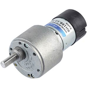 Getriebemotor 39,6 mm, 500:1, 12 V DC MICRO MOTORS RH158.12.510